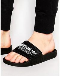 Sandales noires adidas