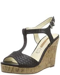 Sandales noires Buffalo