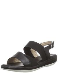 Sandales noires Caprice