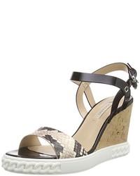 Sandales noires Casadei