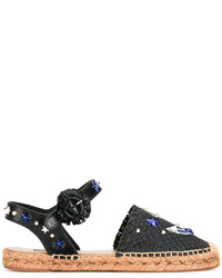 Sandales noires Dolce & Gabbana