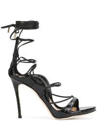 Sandales noires Dsquared2