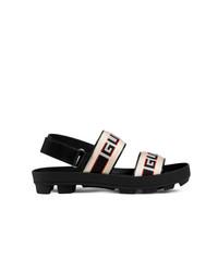Sandales noires Gucci
