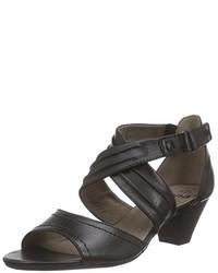 Sandales noires Jana