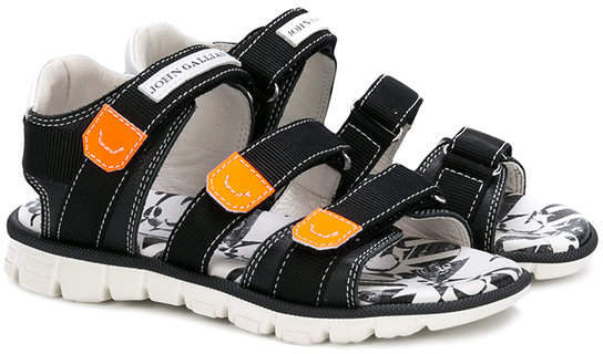 Sandales noires John Galliano