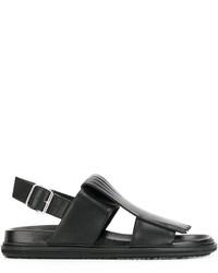 Sandales noires Marni