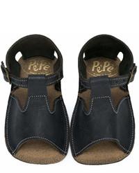 Sandales noires Pépé