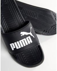 Sandales noires Puma