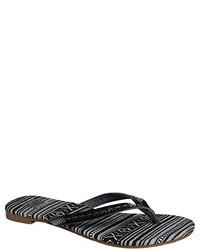 Sandales noires Roxy