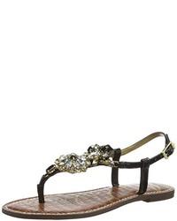 Sandales noires Sam Edelman