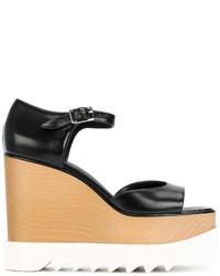 Sandales noires Stella McCartney