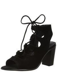Sandales noires Steve Madden