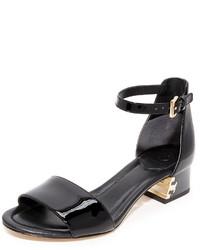 Sandales noires Tory Burch