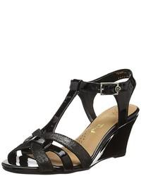 Sandales noires Van Dal