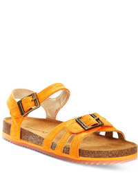 Sandales orange