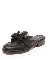 Sandales plates noires Michael Kors