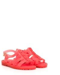 Sandales rouges Mini Melissa