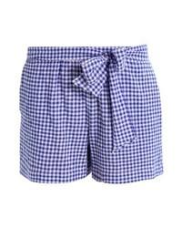 Short à carreaux bleu clair mint&berry