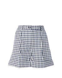 Short à carreaux bleu marine et blanc P.A.R.O.S.H.