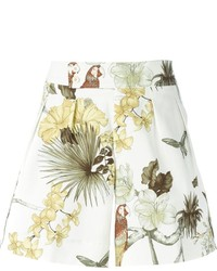 Short à fleurs blanc Etro