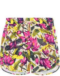 Short à fleurs multicolore Zimmermann