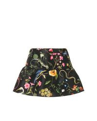 Short à fleurs noir RED Valentino