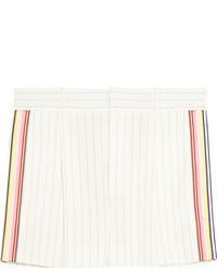 Short à rayures verticales blanc Chloé