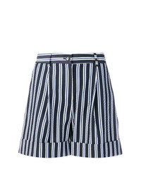 Short à rayures verticales bleu marine et blanc P.A.R.O.S.H.