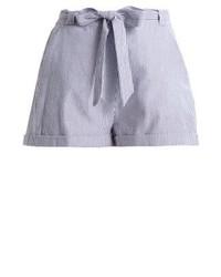 Short à rayures verticales bleu mint&berry
