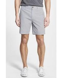 Short à rayures verticales gris