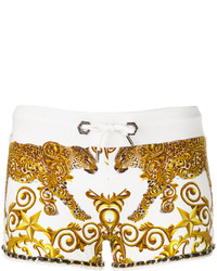 Short blanc Philipp Plein