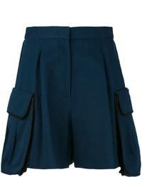 Short bleu marine Fendi