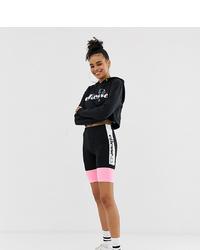 Short cycliste imprimé noir Ellesse