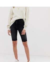 Short cycliste noir Reclaimed Vintage