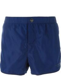 Short de bain bleu marine Versace