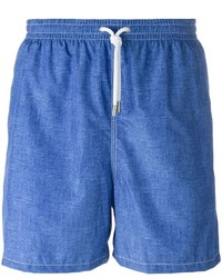 Short de bain bleu Kiton