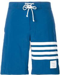 Short de bain bleu Thom Browne