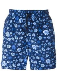Short de bain imprimé bleu marine Polo Ralph Lauren