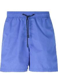 Short de bain imprimé bleu Etro