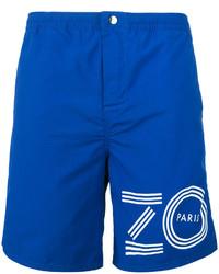 Short de bain imprimé bleu Kenzo