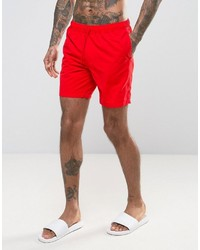 Short de bain rouge Asos