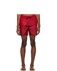 Short de bain rouge Moncler