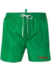 Short de bain vert DSQUARED2