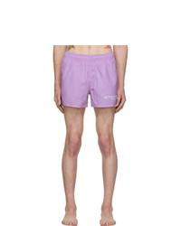 Short de bain violet clair Givenchy