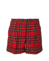 Short écossais rouge P.A.R.O.S.H.