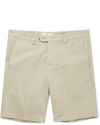 Short en coton beige Ami