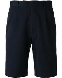 Short en coton bleu marine Closed