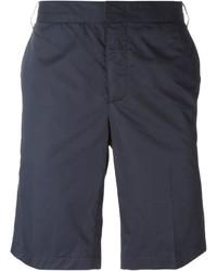 Short en coton bleu marine Lanvin