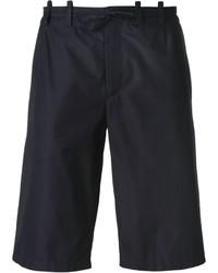 Short en coton bleu marine Maison Margiela