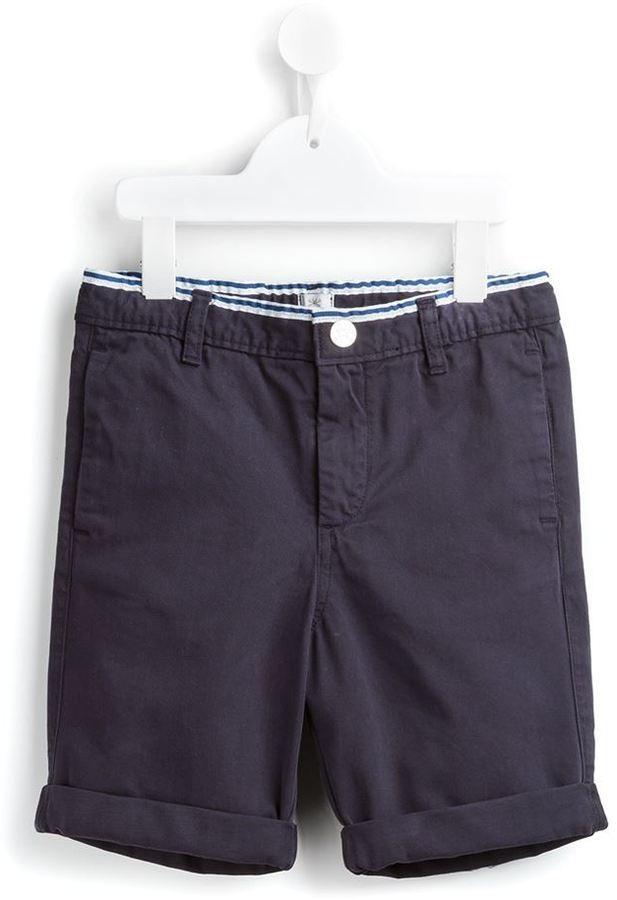 Short en coton bleu marine No Added Sugar